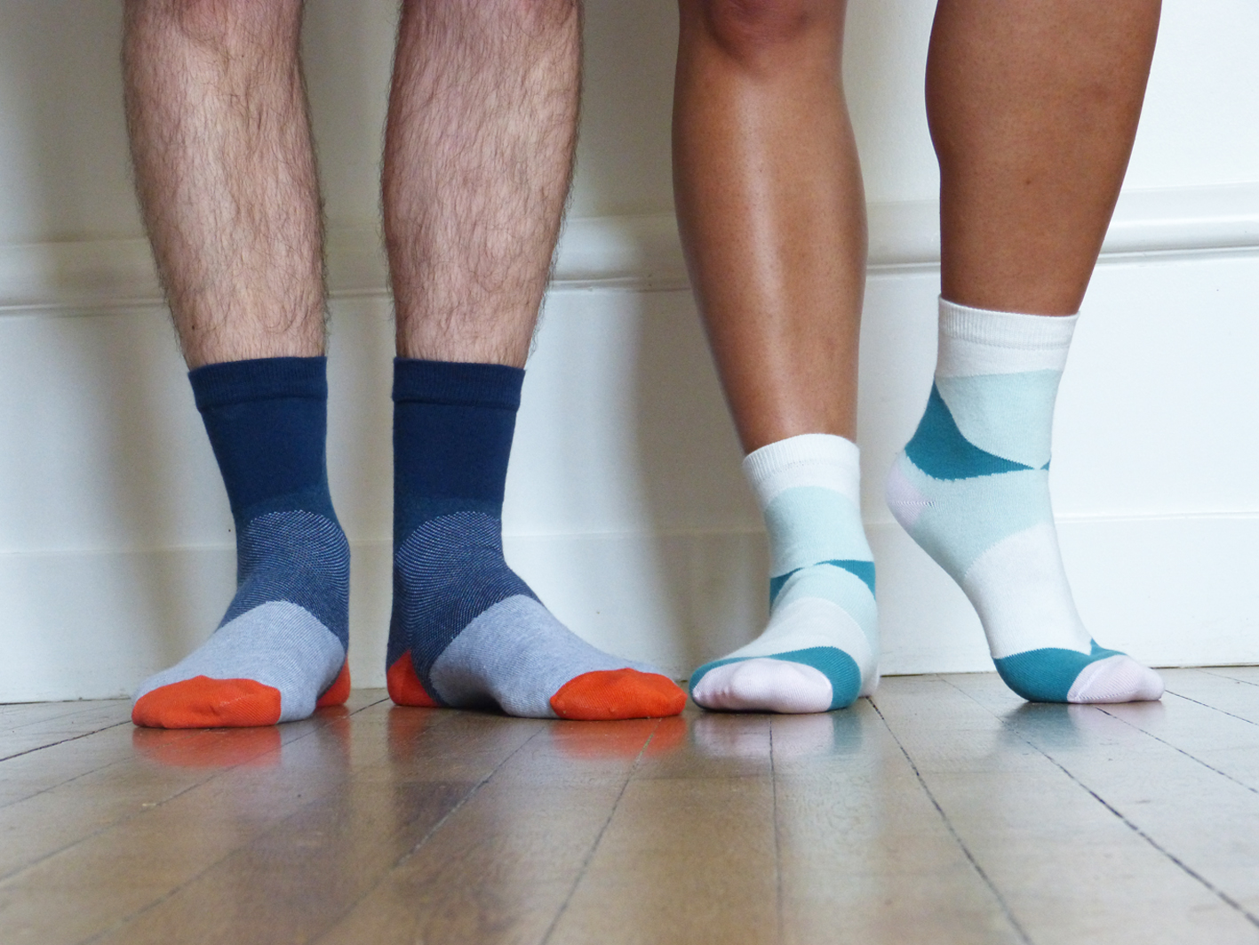 Bonpied, les chaussettes solidaires made in France