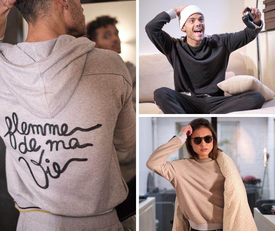 Les Nouveaux Casaniers, des vêtements homewear chics, pratiques et éthiques