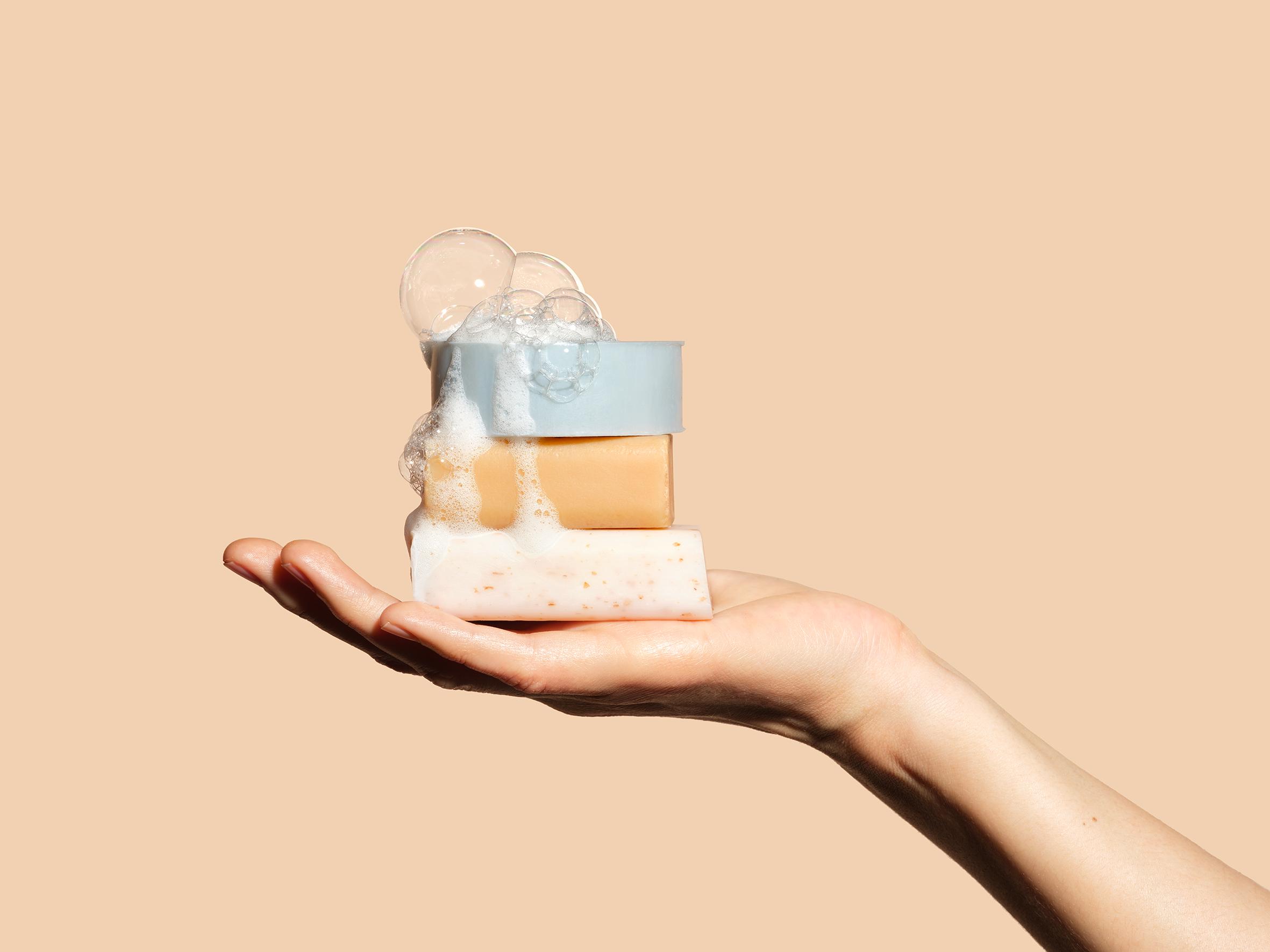 Unbottled, les cosmétiques solides qui moussent beaucoup