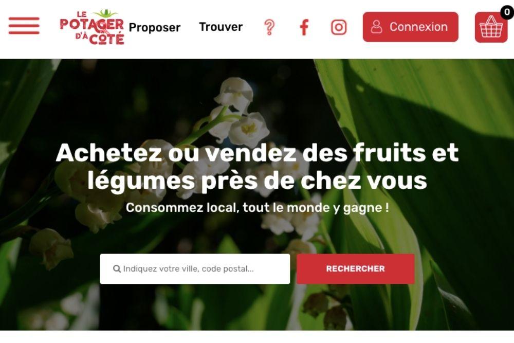Le Potager d'à Côté, une plateforme pour donner ou vendre ses fruits et légumes