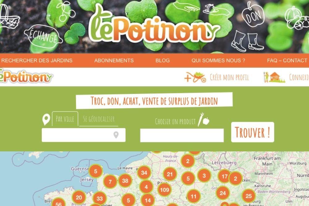 LePotiron.fr, un site pour donner, vendre ou faire du troc.