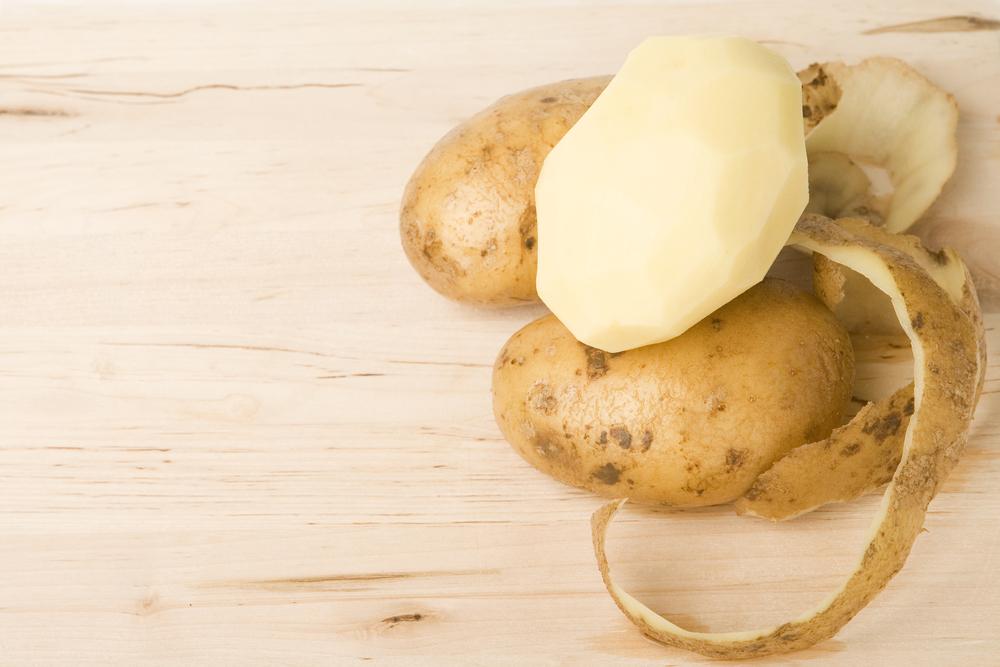 Anti-gaspi : ne jetez plus les épluchures de pommes de terre !