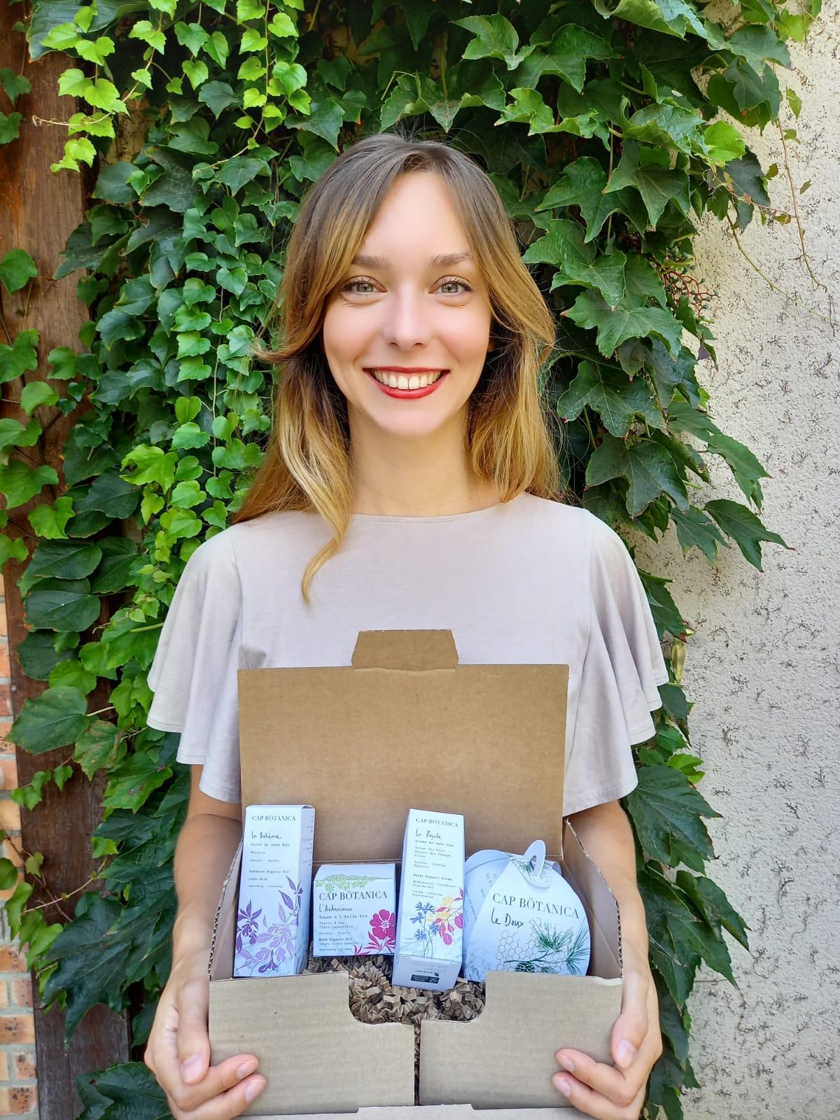 Aurélia Bré a lancé sa marque de cosmétiques 100% naturels et fabriqués artisanalement en France