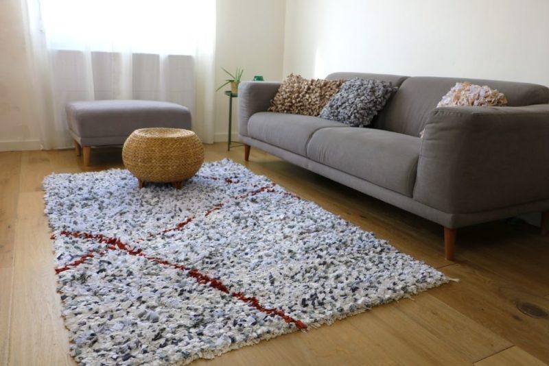 Bohup : des tapis et des coussins confectionnés à partir de tissus récupérés