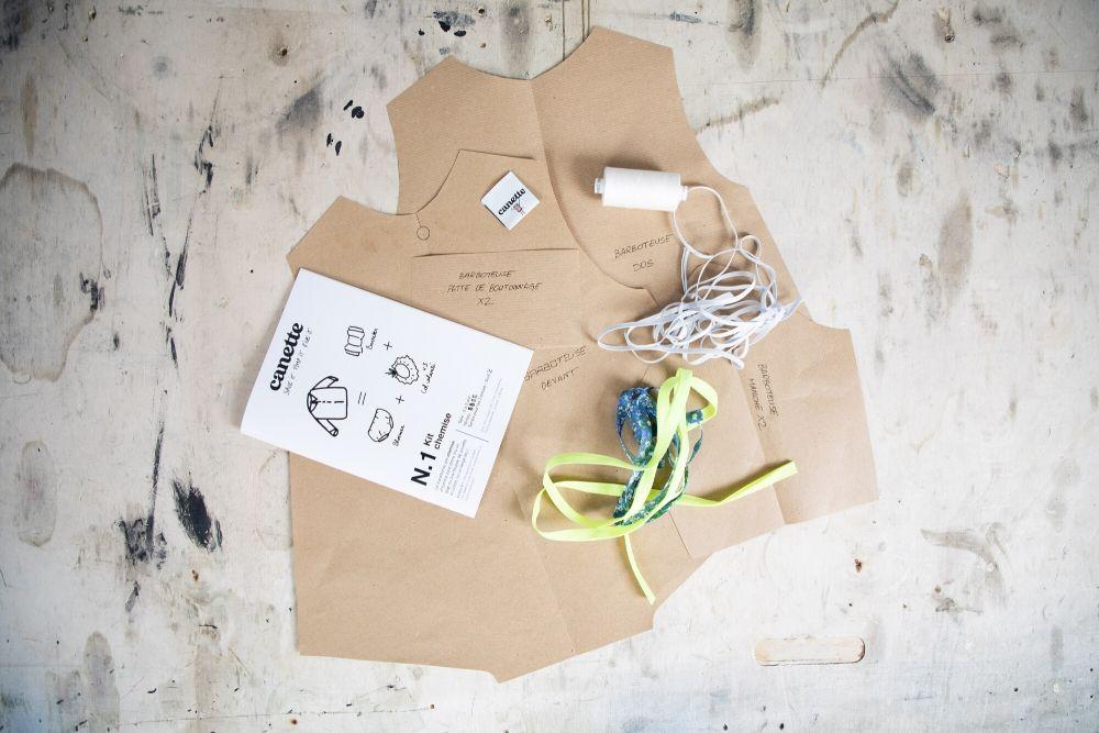 Canette : des kits de couture pour transformer ses vêtements en tenues d'enfants