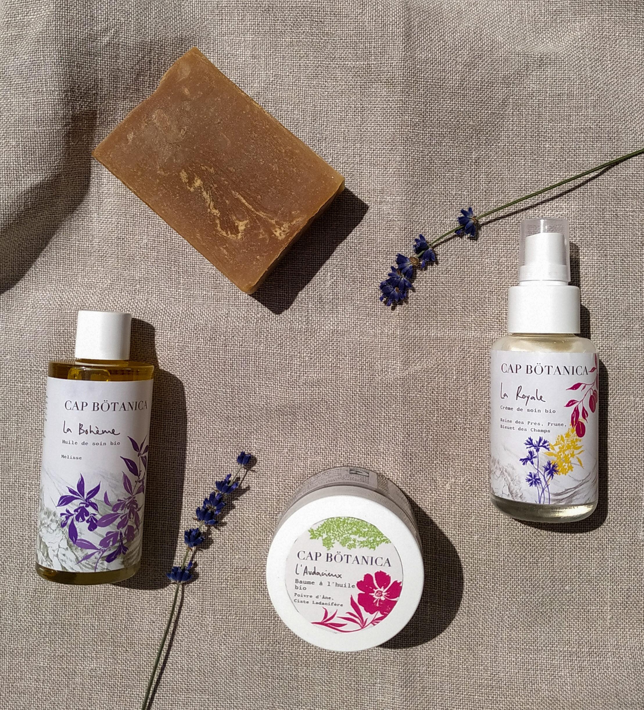 Cap Bötanica, des cosmétiques naturels, bio et made in France