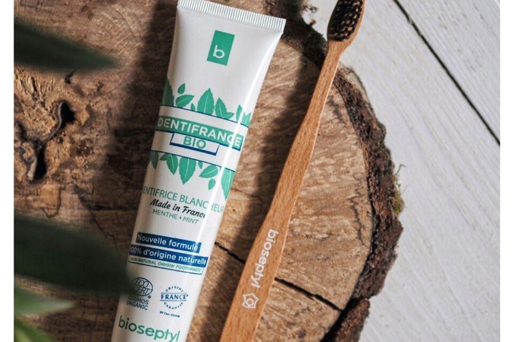 Bioseptyl : le dentifrice naturel certifié Origine France Garantie.