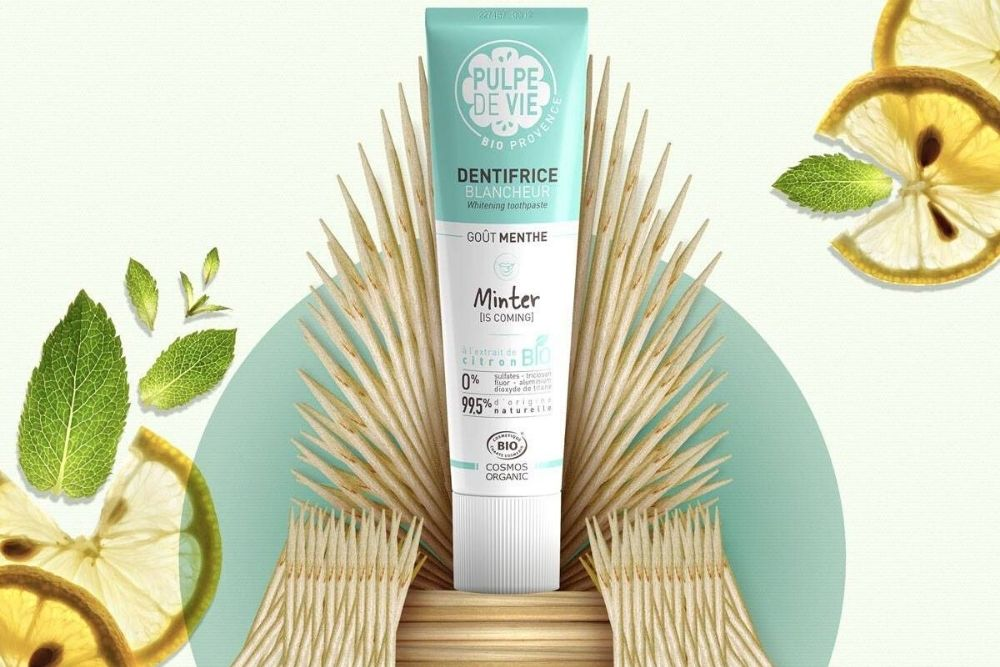 Pulpe de Vie propose 3 dentifrices naturels et fabriqués en France.