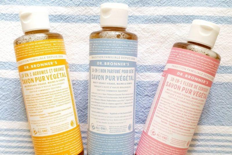 Dr Bronner's : le savon liquide naturel qui fait tout (ou presque)
