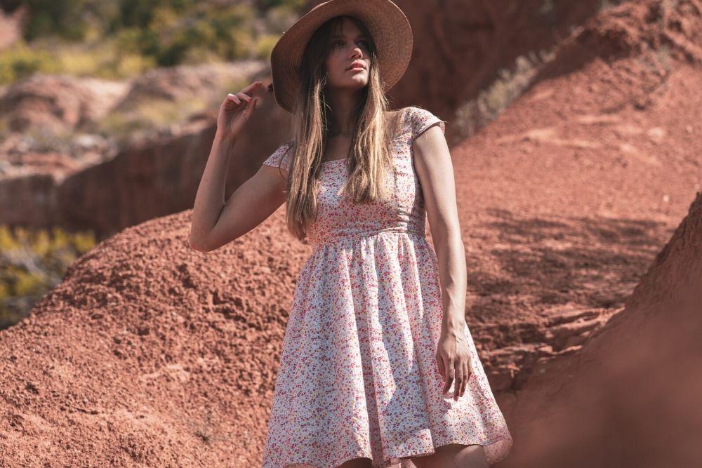 Elleanor de Provence crée des vêtements à partir de tissus de fin de collection