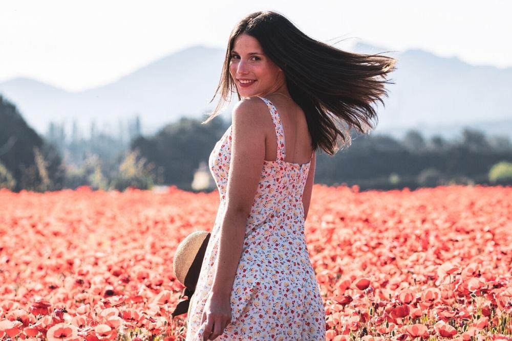 Elleanor de Provence, des robes fleuries qui s'inspirent de la Provence