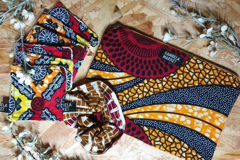 Gambela Market : des vêtements et des accessoires créés à partir de chutes de wax