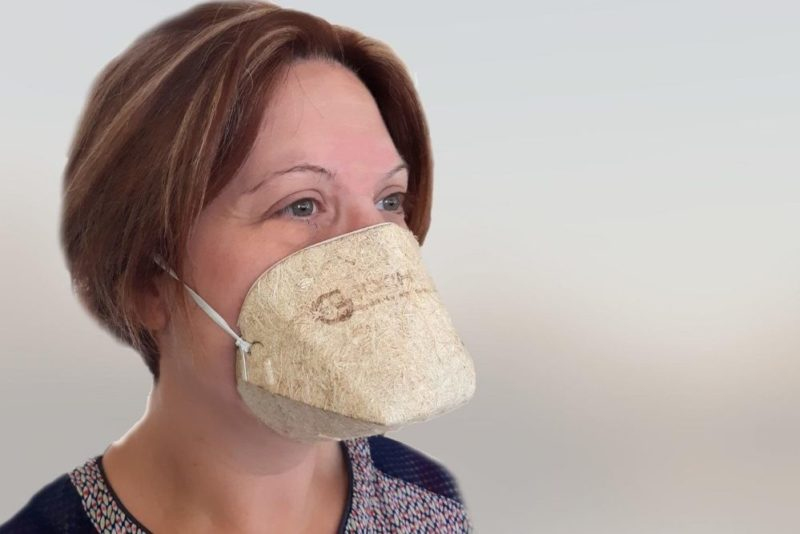 Géochanvre : un masque biocompostable et made in France
