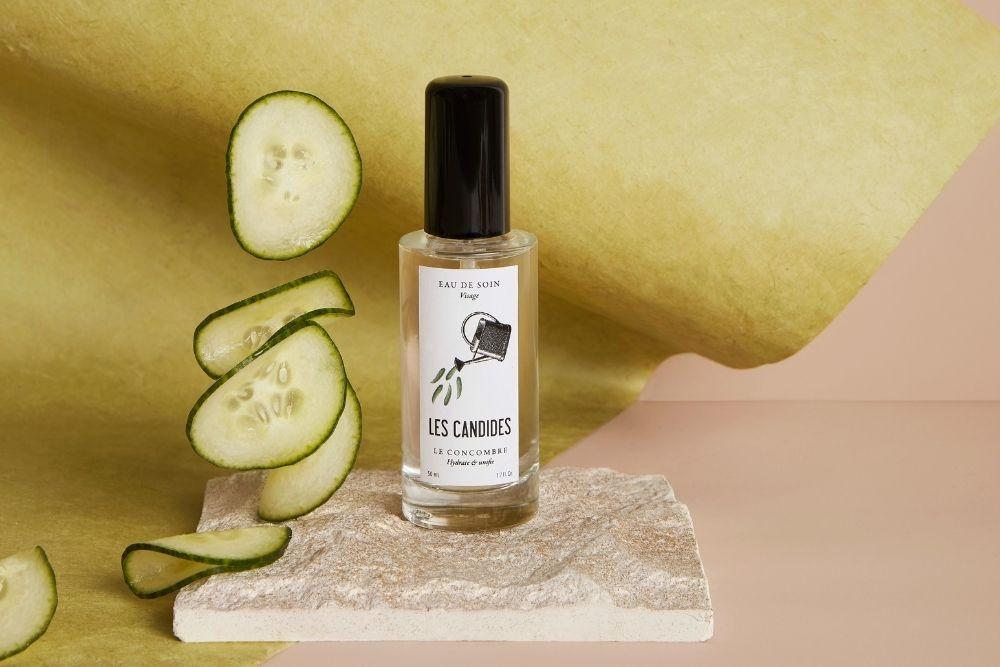 Pépite beauté : l'eau de soin au concombre bio Les Candides