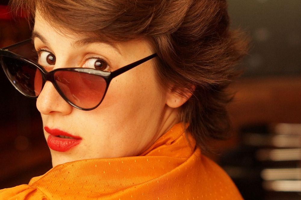 LunelVintage, des lunettes de soleil upcylées, chic et rétro.