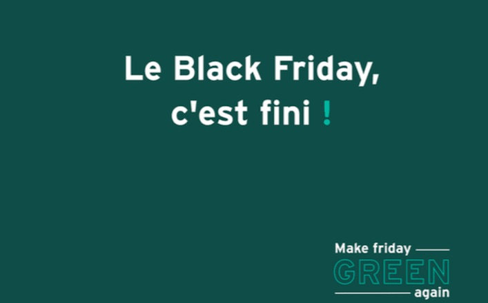 « Make Friday Green Again » : plus de 80 marques françaises boycottent le Black Friday
