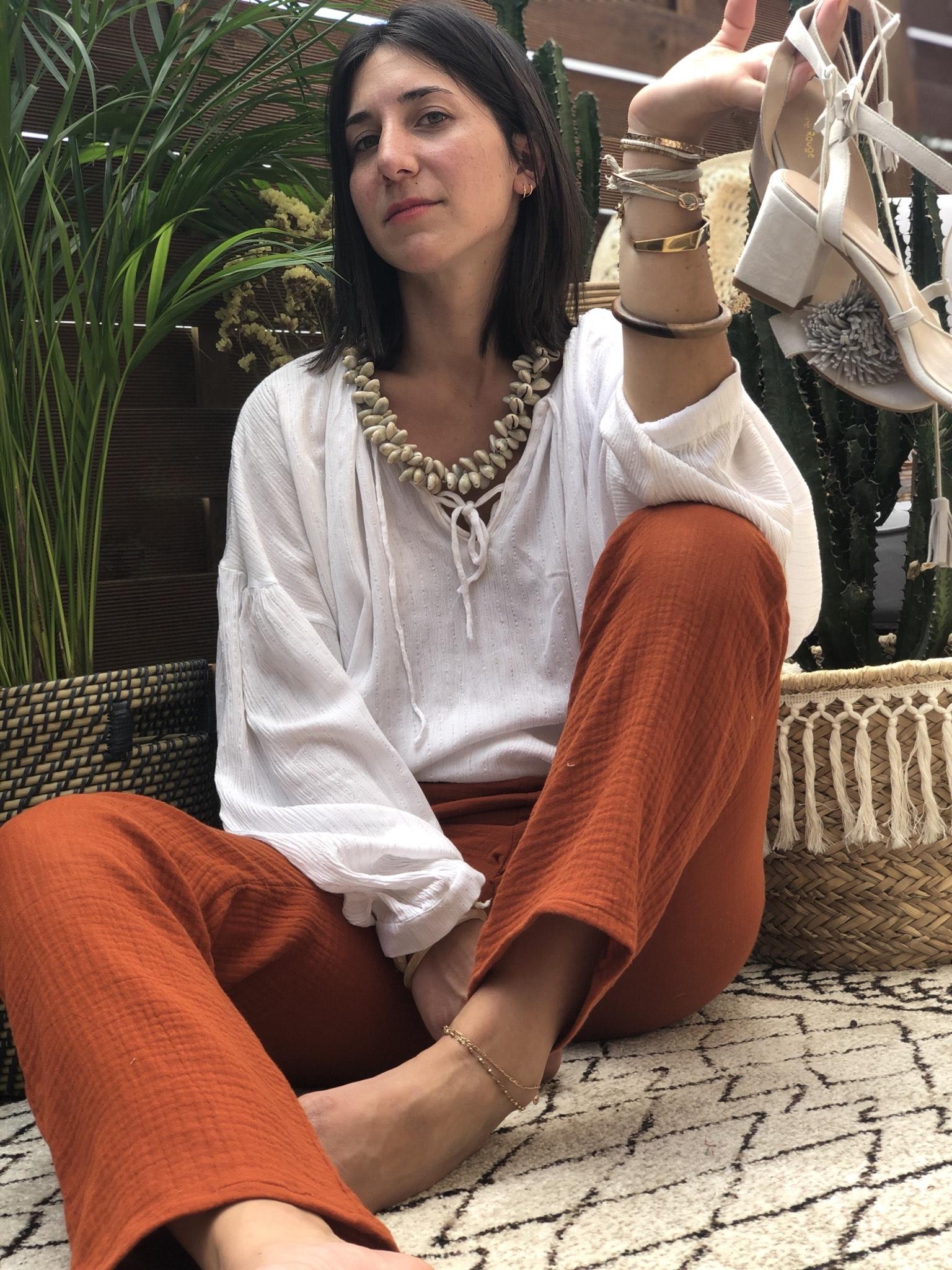 La Mode de Mélissa : des vêtements cousus à la main en France