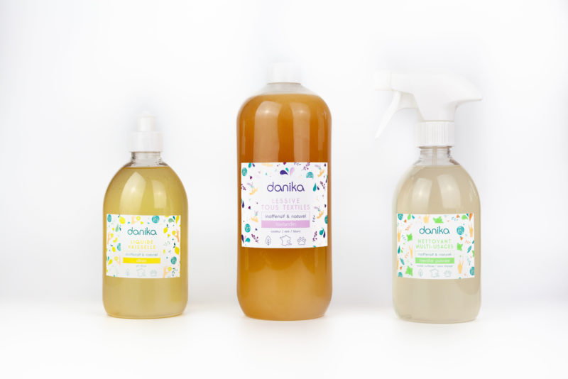 Danika, la nouvelle marque de produits ménagers écologiques