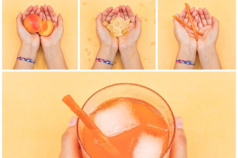 Straw'Bon, la paille faite à base de fruits déshydratés.