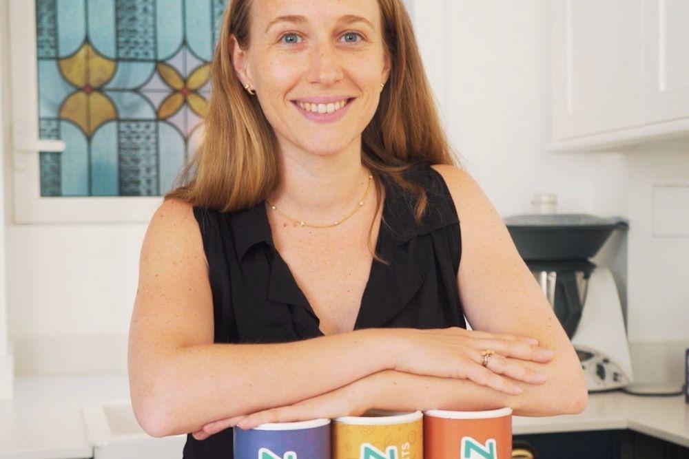 Bathylle Baudry, maman de deux garçons, a lancé sa marque de goûters bons pour les enfants et la planète