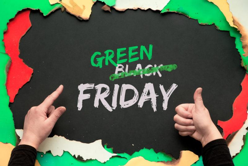 Green Friday : un challenge pour changer ses habitudes de consommation avant le Black Friday