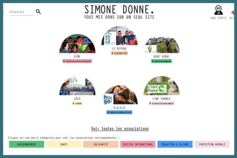 Solidarité. Simone Donne, la plateforme qui facilite les dons aux associations