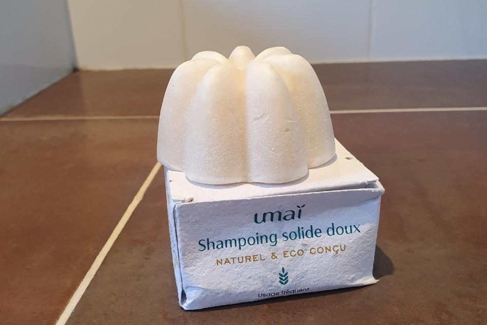 Umaï, le shampooing solide à adopter